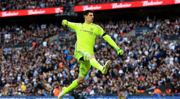 Thibaut Courtois left Chelsea for Real Madrid. (Adam Davy/PA)
