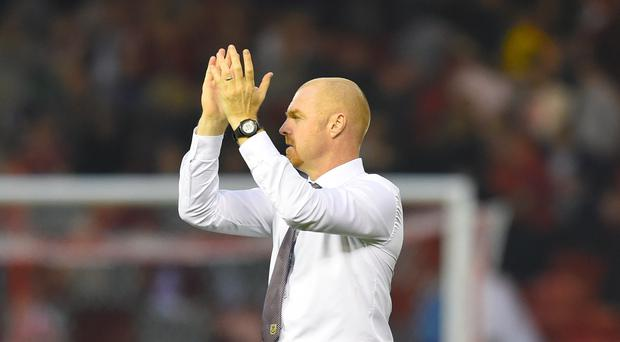 Sean Dyche was happy with his Burnley side's effort in Istanbul (Ian Rutherford/PA)