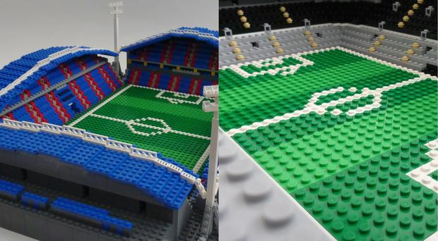 Can you work out the stadium from the replica? (www.brickstand.com)