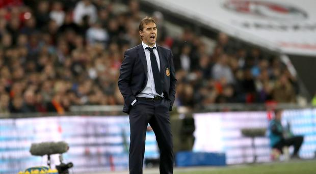 "Julen Lopetegui said Real Madrid need to improve, ""without a doubt"" (PA)"