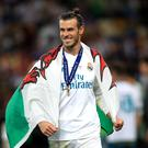 Gareth Bale is ready to step up and replace Cristiano Ronaldo (Mike Egerton/PA)