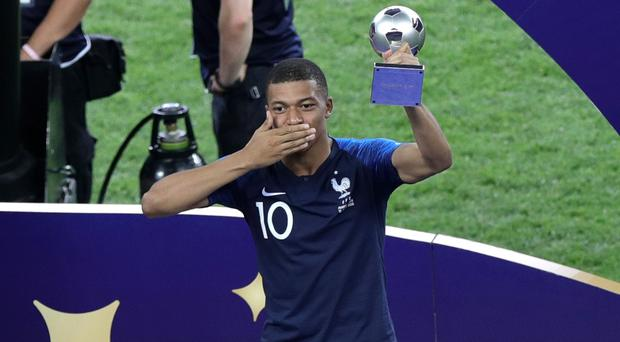 World Cup star Kylian Mbappe was PSG's match-winner (Aaron Chown/PA)