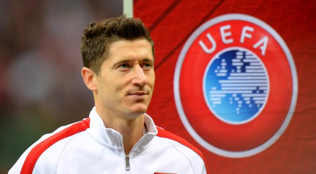 Robert Lewandowski has impressed for Bayern Munich in the cups (Tony Marshall/PA)
