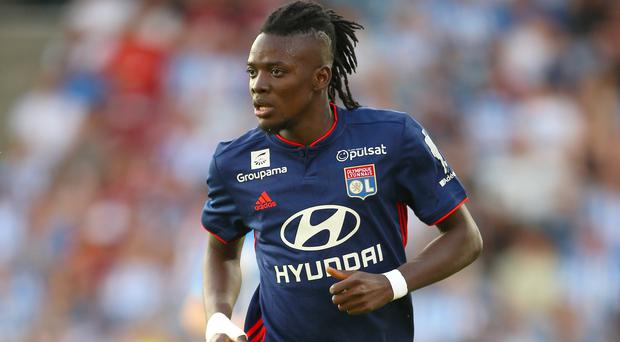 Bertrand Traore was on target as Lyon beat Strasbourg (Nigel French/PA)