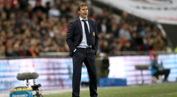 Former Spain manager Julen Lopetegui has set high targets for Real Madrid this season (Nick Potts/PA)