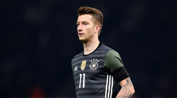Marco Reus played well against France (Adam Davy/PA)