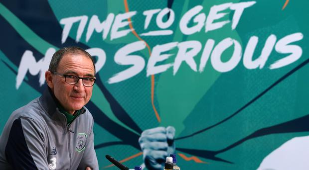 Republic of Ireland manager Martin O'Neill will be looking for a reaction from his team in Poland (Brian Lawless/PA)