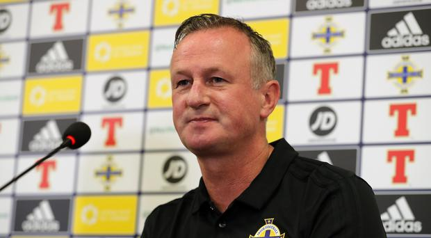 Michael O'Neill insists getting a win over Israel is crucial (Liam McBurney/PA)