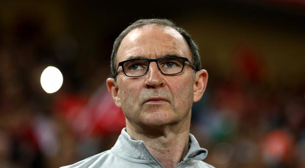Republic of Ireland manager Martin O'Neill.