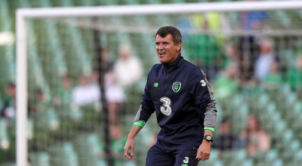 Republic of Ireland assistant manager Roy Keane (Brian Lawless/PA)