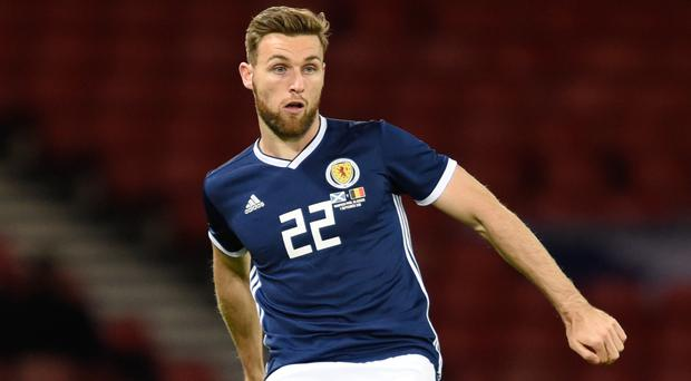 Grateful Stephen O'Donnell keen to remain in Scotland set-up (Ian Rutherford/PA)