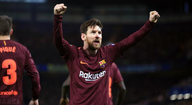 Lionel Messi could feature if Girona play Barcelona in the United States (Nick Potts/PA)