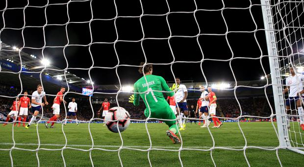 Marcus Rashford scored the only goal of the game (Nick Potts/PA)