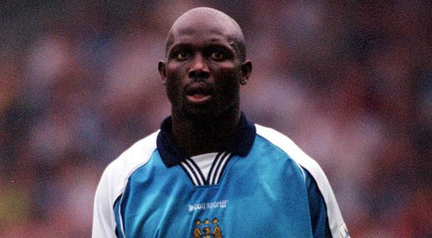 Liberia president George Weah returned to international football on Tuesday evening (PA)
