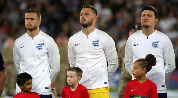 Jack Butland came in for Jordan Pickford on Tuesday (Nick Potts/PA)