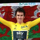 Tour de France champion Geraint Thomas has found himself the centre of attention since his summer triumph. (Aaron Chown/PA)