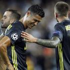 Cristiano Ronaldo was stunned to be sent off (Alberto Saiz/AP)