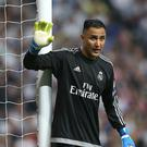 Goalkeeper Keylor Navas has seen his place as Real Madrid's number one come under threat (Adam Davy/PA)