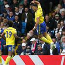 Che Adams was Birmingham's hero at Elland Road (Barrington Coombs/PA(