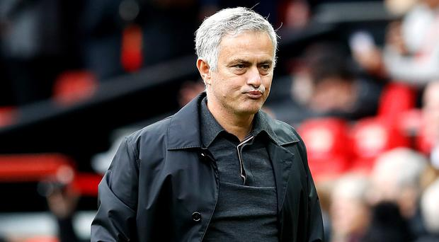 Jose Mourinho criticised Manchester United's performance against Wolves (Martin Rickett/PA)