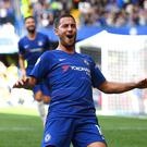 Eden Hazard can fulfil his potential under Maurizio Sarri at Chelsea, says Gianfranco Zola (Victoria Jones/PA Images)