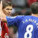 Steven Gerrard and Frank Lampard frequently faced each other in big matches for their clubs (Peter Byrne/PA)