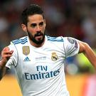 Isco has been discharged from hospital after surgery (Mike Egerton/PA)