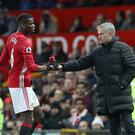 Manchester United's Paul Pogba has been stripped of the club's vice-captaincy (Martin Rickett/PA)