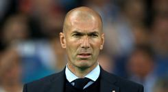 Former Real Madrid manager Zinedine Zidane has been linked with Manchester United.