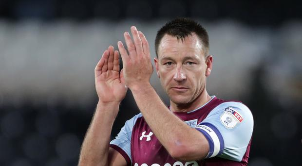 John Terry's name is in the frame to take over as Aston Villa boss (Richard Sellers/PA)
