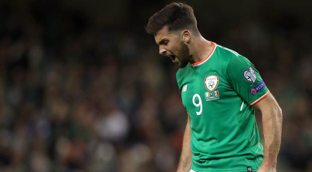 Shane Long is out of the Ireland squad (Niall Carson/PA)