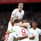 Harry Winks, top, was given an opportunity in England's victory in Spain (Nick Potts/PA)