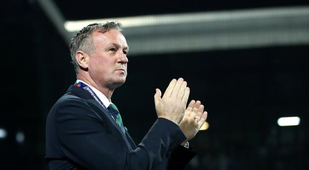 Northern Ireland manager Michael O'Neill was left frustrated as his side left Sarajevo empty-handed (Tim Goode/PA)