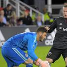 Wayne Rooney's brilliant free-kick took DC United a step closer to the MLS play-offs (John McDonnell/AP).