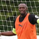 Usain Bolt has been offered a professional football contract (Isabel Infantes/PA)