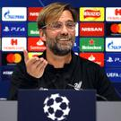 Jurgen Klopp's Liverpool take on Red Star Belgrade on Wednesday (Richard Sellers/PA)