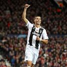 Juventus' Cristiano Ronaldo enjoyed a winning return to Old Trafford (Martin Rickett/PA).