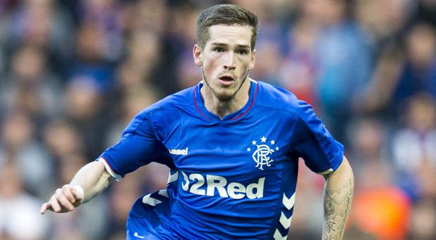 Ryan Kent is out of Rangers' Moscow trip (Jeff Holmes/PA)