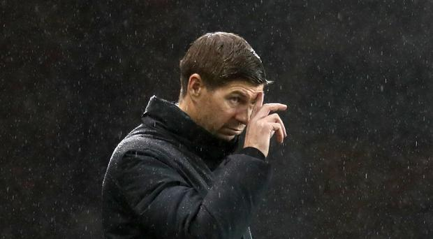 Steven Gerrard's side suffered defeat in Moscow (Andrew Milligan/PA)