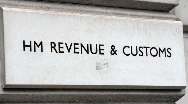 HMRC officers, accompanied by the PSNI, searched a commercial premises in the city on Thursday (Kirsty O'Connor/PA)