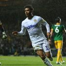 Leeds' Wales striker Tyler Roberts has made his mark for club and country this season (Nigel French/PA)