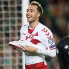Tottenham playmaker Christian Eriksen provides the creative spark for Denmark (Brian Lawless/PA)