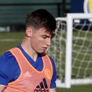Kieran Tierney becomes ninth player to withdraw from Alex McLeish's Scotland squad (Jane Barlow/PA)