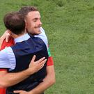 Jordan Henderson and Gareth Southgate have a strong relationship (Adam Davy/PA)