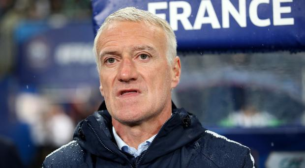 Didier Deschamps' France suffered their first defeat since March (Adam Davy/PA)
