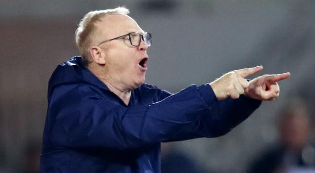 Scotland manager Alex McLeish wants a big Hampden crowd for crunch Nations League game against Israel (Adam Davy/PA)