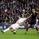 Kane stretches to score England's winner (Nick Potts/PA)