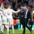 England manager Gareth Southgate revealed his pride in his players after their win over Croatia (Nick Potts/PA).
