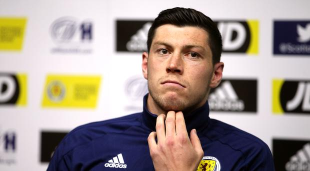 Scott McKenna wants a repeat performance against Israel (Jane Barlow/PA)