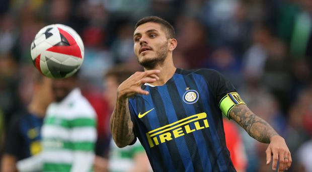 Inter Milan's Mauro Icardi opened the scoring (Niall Carson/PA)